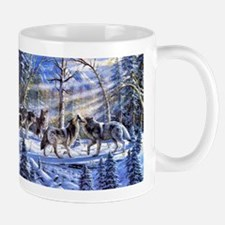 Sun Rays In Winter Mugs
