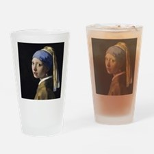 Jan Vermeer Girl With A Pearl Earri Drinking Glass