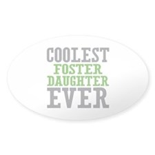 Coolest Foster Daughter Decal