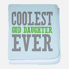 Coolest God Daughter Ever baby blanket