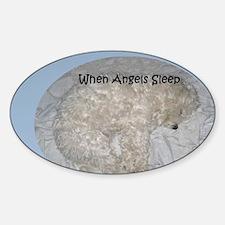 Maltese Angel at Sleep Decal