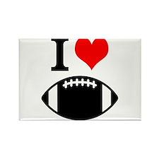 I Love Football Magnets