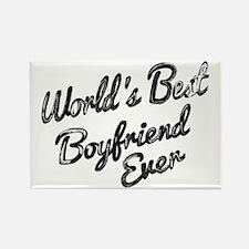 Worlds best boyfriend Magnets