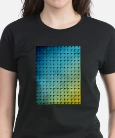 Maize And Blue Boxes T-Shirt