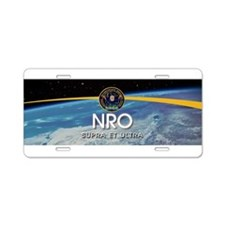 NRO Vipers Aluminum License Plate