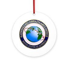 NRO Logo Ornament (Round)