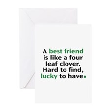 Hard To Find, Lucky To Have Greeting Card