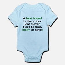 Hard To Find, Lucky To Have Infant Bodysuit