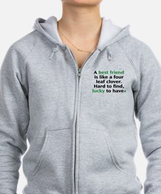 Hard To Find, Lucky To Have Zip Hoodie