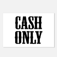 Cash Only Postcards (Package of 8)