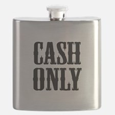 Cash Only Flask
