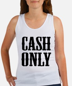 Cash Only Women's Tank Top