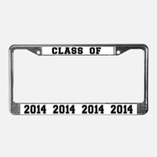 Class Of 2014 License Plate Frame