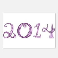2014 fabric font Postcards (Package of 8)