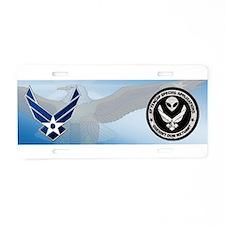 TENCAP Aluminum License Plate