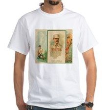 John Morrell Vintage Baseball Card Art T-Shirt