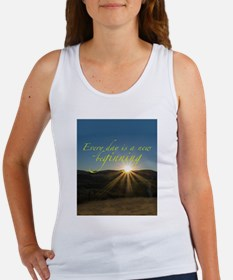 Everyday is a New Beginning Tank Top