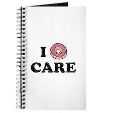 I Donut Care Journal