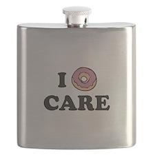 I Donut Care Flask