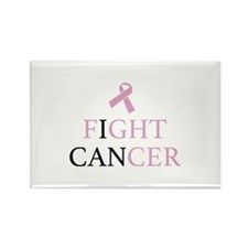Fight Cancer Rectangle Magnet