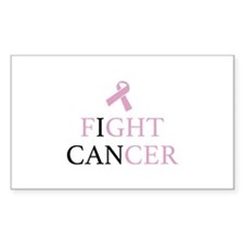 Fight Cancer Decal