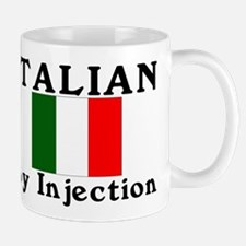 Italian by injection.png Mugs