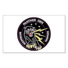 Panther Den Decal