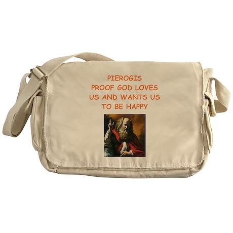pierogi Messenger Bag