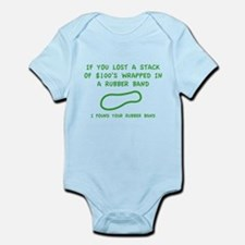 I Found Your Rubber Band Infant Bodysuit
