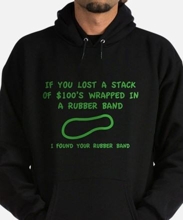 I Found Your Rubber Band Hoodie (dark)