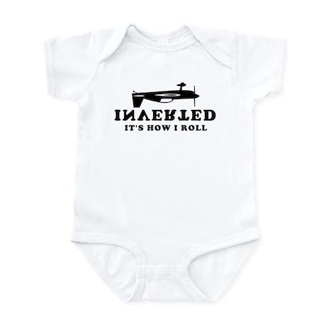Aerobatics - Inverted Roll Infant Bodysuit