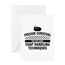 Prison Survival Greeting Card