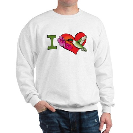 I heart hummingbirds Sweatshirt