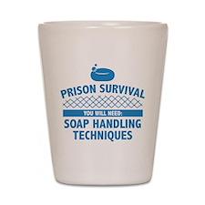 Prison Survival Shot Glass