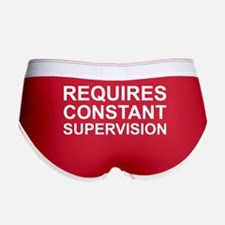 Requires Constant Supervision Women's Boy Brief