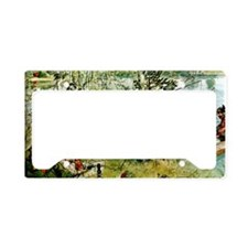Crayfish Season Opens - Carl  License Plate Holder