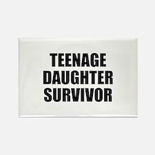 Teenage Daughter Survivor Rectangle Magnet