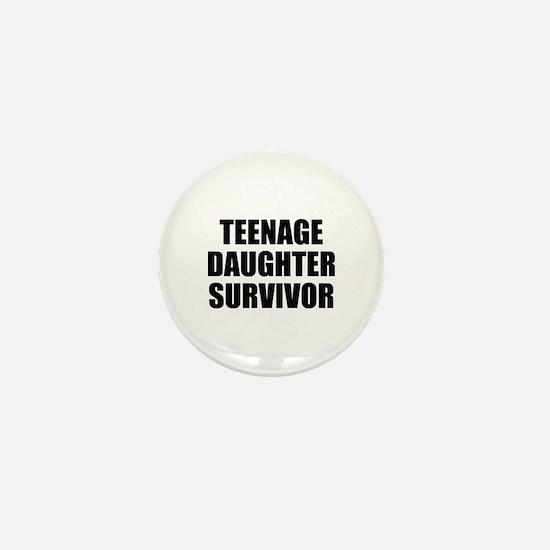 Teenage Daughter Survivor Mini Button (10 pack)