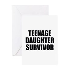 Teenage Daughter Survivor Greeting Card