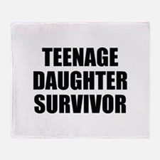 Teenage Daughter Survivor Stadium Blanket