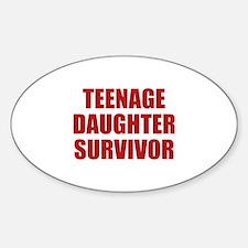 Teenage Daughter Survivor Decal
