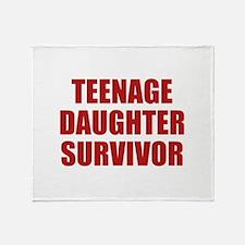Teenage Daughter Survivor Stadium Blanket