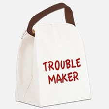 Trouble Maker Canvas Lunch Bag