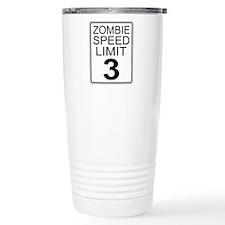 Zombie Speed Limit Travel Mug