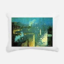 Julian Alden Weir - The  Rectangular Canvas Pillow