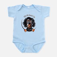 Dachshund Longhair B/T IAAM Infant Bodysuit
