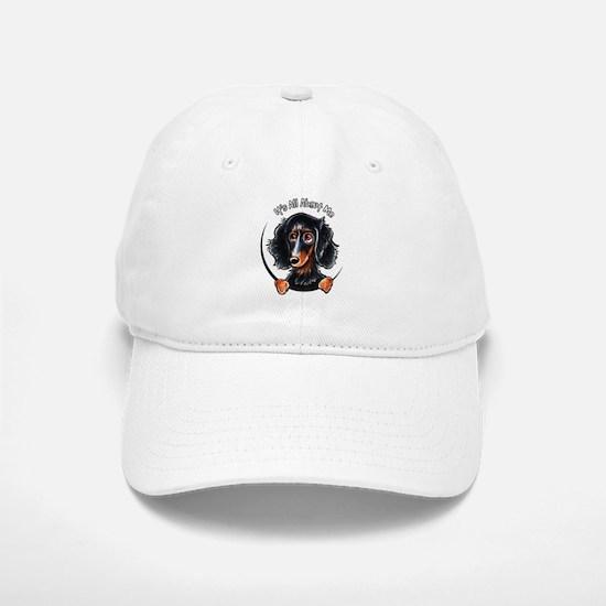 Dachshund Longhair B/T IAAM Baseball Baseball Cap