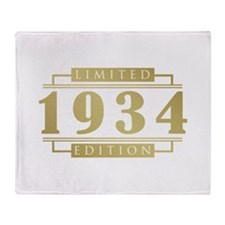 1934 Limited Edition Throw Blanket