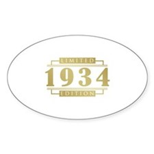 1934 Limited Edition Decal