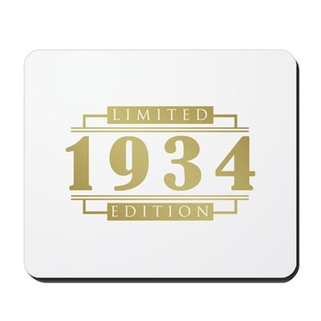 1934 Limited Edition Mousepad